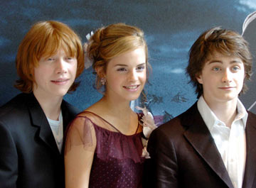 Dan, Emma, and Rupert