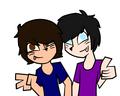 Dan and Phil x3