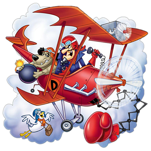 Dastardly and Muttley in Their Flying Machines ಇ