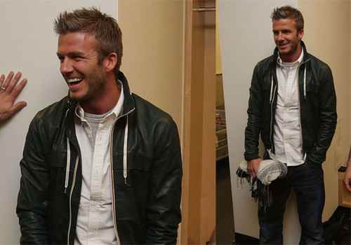 David Beckham casual style