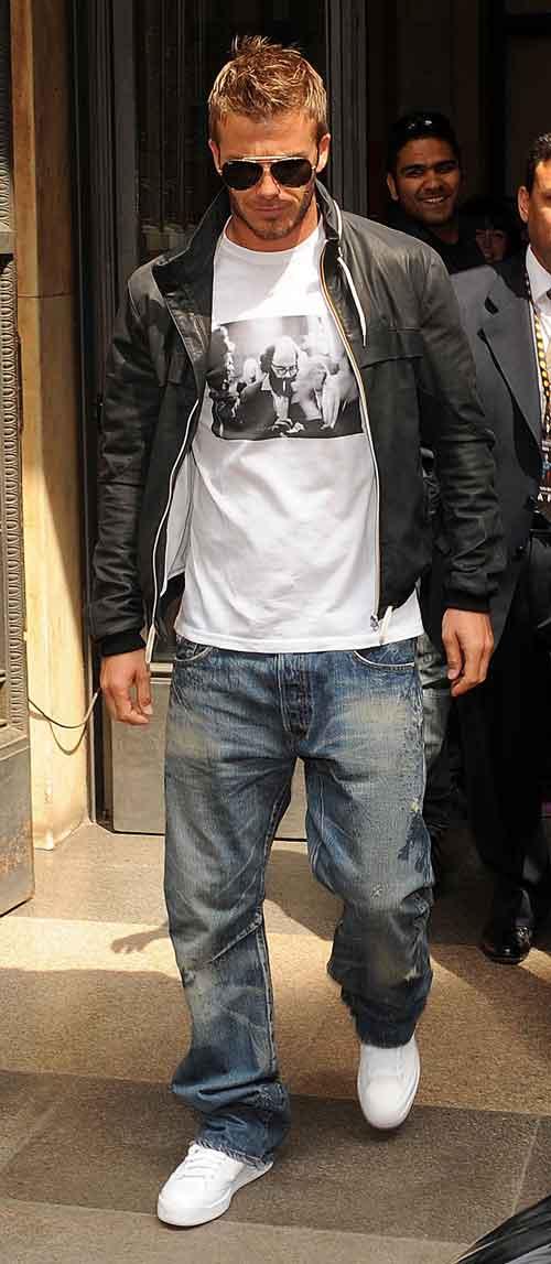 David Beckham Casual Style David Beckham Foto 33953262 Fanpop