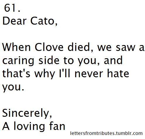 Dear Cato