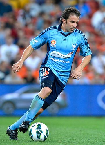 Del PIero FC Sidney 2013