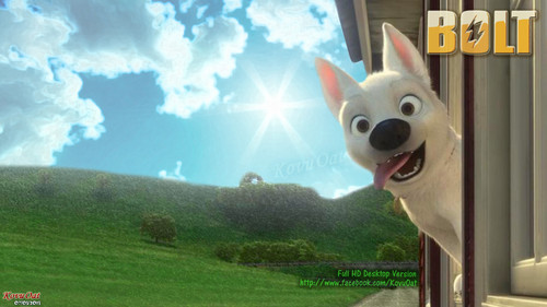 Disney Bolt Dog Desktop Wallaper HD