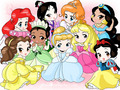 Disney Heroines - childhood-animated-movie-heroines fan art