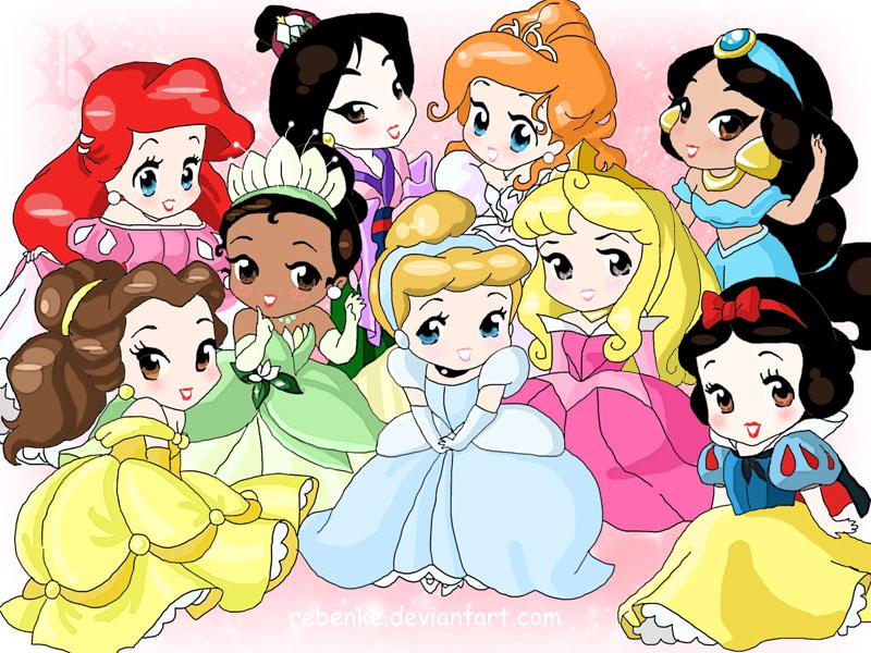 Heroínas De Caricaturas De La Infancia Imágenes Disney Heroines Hd