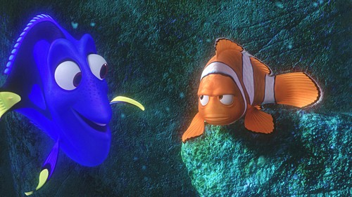 Disney•Pixar Screencaps - Dory & मार्लिन