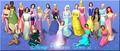 Disney Princess Sims 2