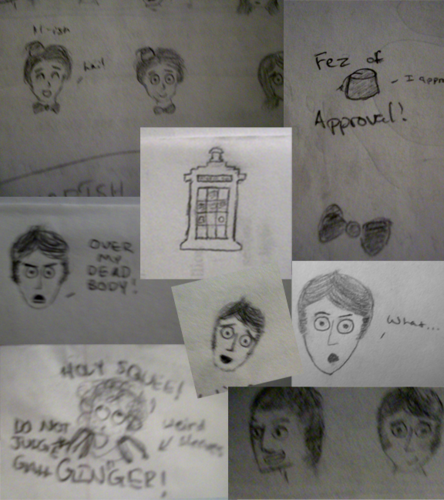 Doctor Who Doodle Dump