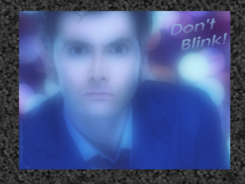 Don't Blink (framed)