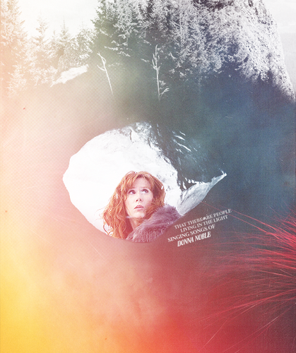 Donna Noble Hintergrund possibly containing a feuer entitled Donna Fanart :D