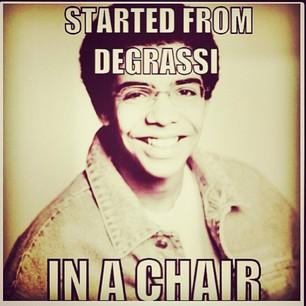 ڈریک in Degrassi!