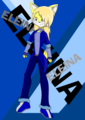 Eleina the wolf for XxRocket95xX 's Eleina the wolf contest - sonic-fan-characters fan art