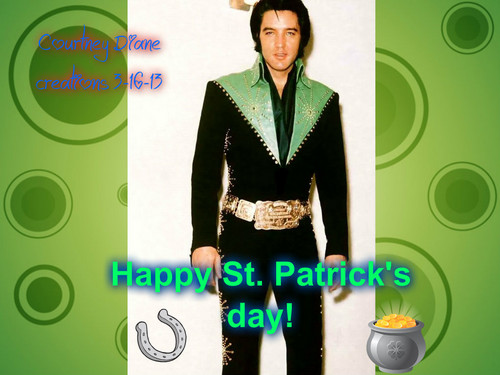 Elvis St. Patrick's day