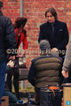 Emilie de Ravin and Robert Carlyle on set - once-upon-a-time photo