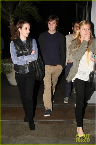 Emma & Evan out in Hollywood
