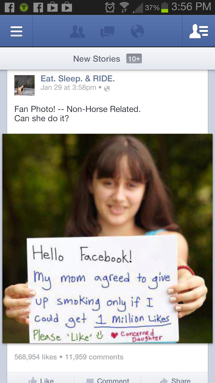 Facebook at it's best!