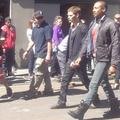 Fanpics from the set of 4x20 The Originals
