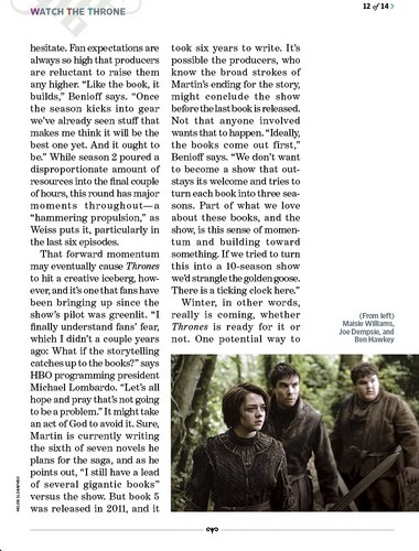 Game of Thrones- EW Scan