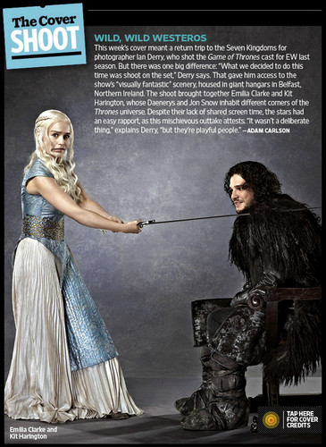 Game of Thrones- EW