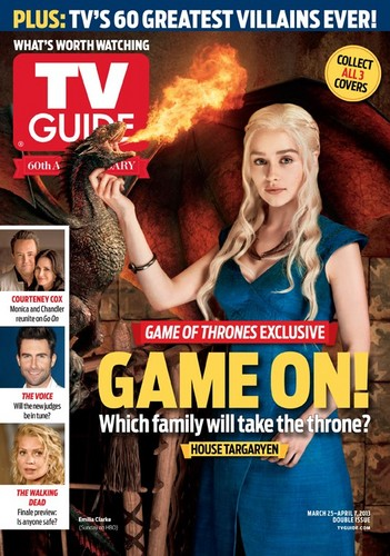 Game of Thrones - TV Guide Cover