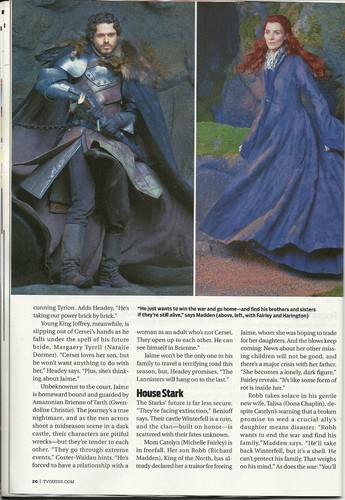 Game of Thrones - TV Guide Scan