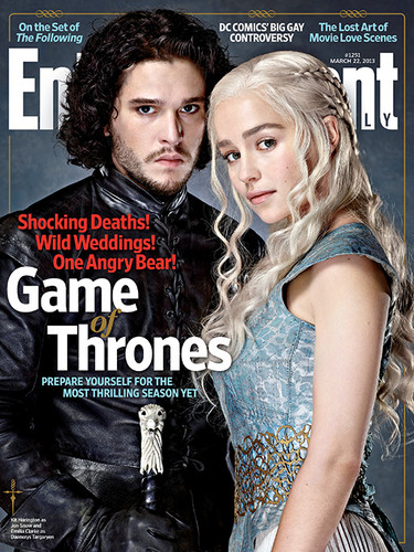 Game of Thrones wallpaper with a portrait and anime titled Game of Thrones- EW Cover