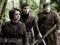 Hot Pie, Arya & Gendry