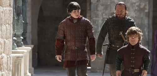 Podrick Payne, Tyrion Lannister & Bronn