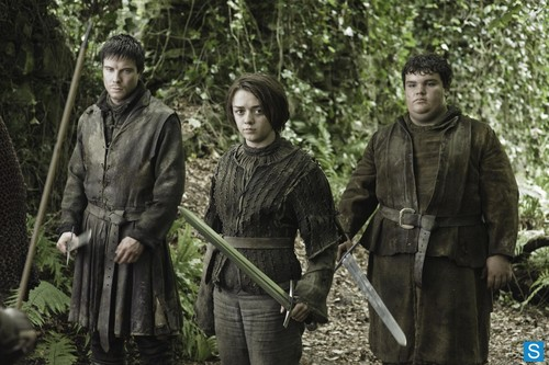 Hot Pie, Arya Stark & Gendry