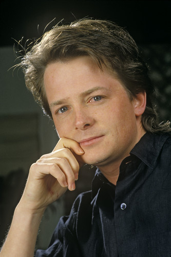 Michael J Fox wallpaper entitled George Rose photoshoot 1988