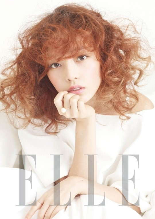 Goo Hara in Elle Magazine