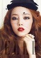 Goo Hara in Elle Magazine