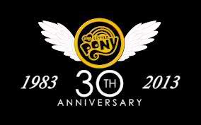 Happy 30th anniversary MLP!
