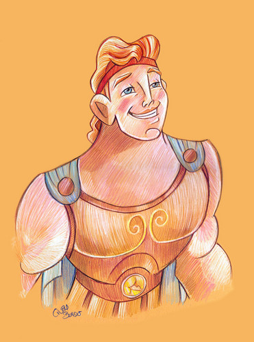 Childhood Animated Movie Heroes wallpaper titled Hercules