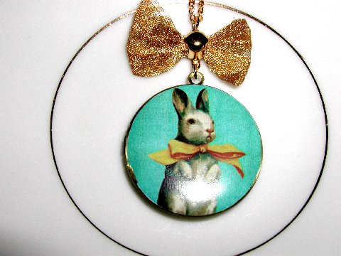 Hi Hop Bunny Locket নেকলেস