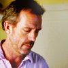 Dr. Gregory House photo probably with a portrait titled House