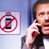 Dr. Gregory House photo with a portrait titled House