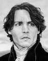 Ichabod Crane portrait - ichabod-crane-sleepy-hollow fan art