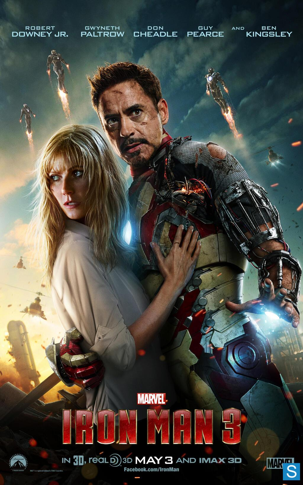 Iron Man 3 - Promotional Posters