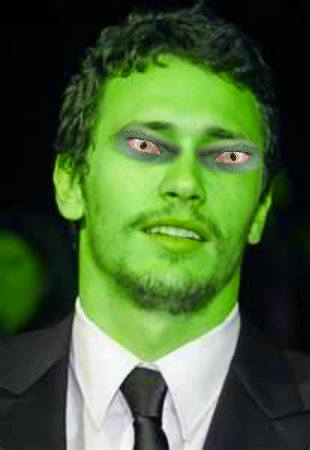 James Franco Turns Into Creature