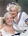 Jean Harlow and Mother