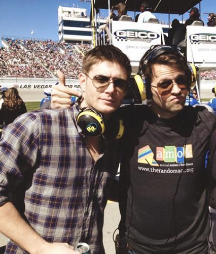 Misha & Jensen - NASCAR