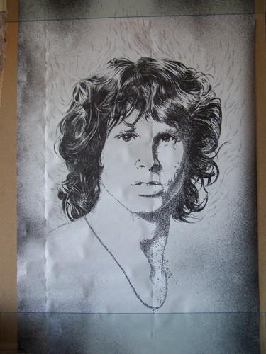 Jim Morrison poster 由 Bob Dara