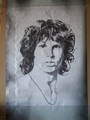 Jim Morrison poster by Bob Dara