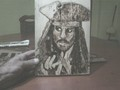 Johnny Deep-pyrography - johnny-depp fan art