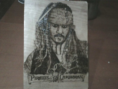 Johnny Deep-pyrography