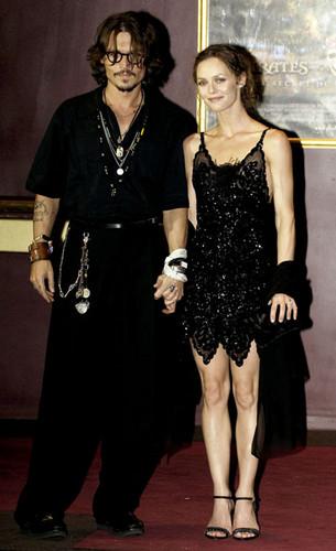 Johnny Depp and Vanessa Paradise