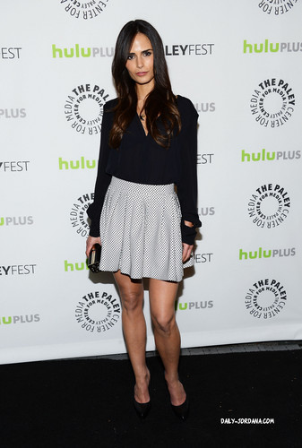 Jordana Brewster wallpaper probably containing a portrait titled Jordana @ 'Dallas' PaleyFest 2013