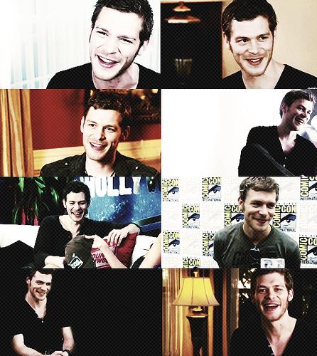 Joseph морган and his perfect smile.